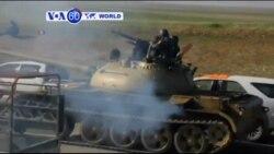 VOA60 Duniya: Mayakan Kurdawa Sun Kubutar Da Wasu Mutane Daga 'Yan Kungiyar ISIL, Iraqi, Disamba 19, 2014