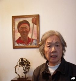 天安門母親群體的代表丁子霖 (資料照片)