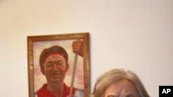 天安门母亲群体的代表丁子霖 (资料照片)