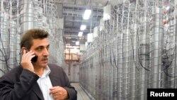 伊朗德黑蘭大學的濃縮鈾儲存(資料圖片)