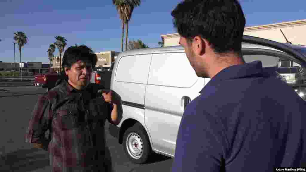 Steve Andrade, se muestra a favor del muro fronterizo entre EEUU y México.