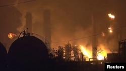 Пожежа на нафтохімічному заводі, Порт-Нечес, Техас, 27 листопада 2019 року