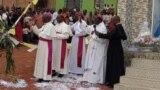 Abasenyeri Katolika mu muhango wo kwibuka ku ncuro ya 25 Musenyeri Joachin Ruhuna.