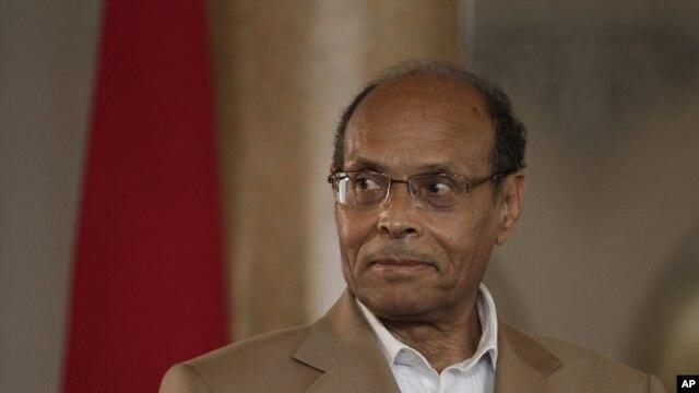 Tổng Thống Tunisia Moncef Marzouki.