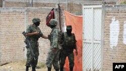 Lực lượng quân sự Mexico đang tham gia vào chiến dịch tàn khốc chống lại những tập đoàn ma túy hay gây bạo động