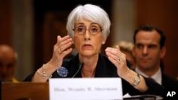 La subsecretaria de Estado para Asuntos Políticos, Wendy Sherman, dijo que Irán se ha visto forzado a negociar.