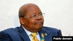 Rais wa zamani wa Tanzania Benjamin Mkapa, anayeongoza mazungumzo ya amani ya Burundi.
