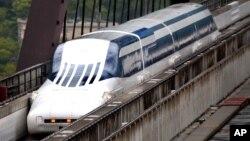 초고속 미래 무인열차, 일반인 시승식 관심