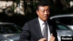 中國駐英大使劉曉明 (資料照)