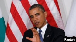 US President Barack Obama discusses attack on Nairobi mall on Sept.23, 2013.