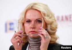 타티아나 골리코바 러시아 부총리.