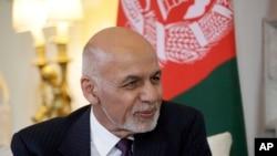 Le président afghan Ashraf Ghani à Londres, le 17 juin 2019. (AP Photo/Matt Dunham)