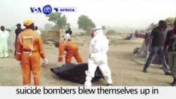 VOA60 Africa - Nigerian Suicide Bombers Kill 4