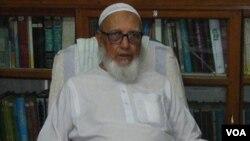 Ghulam Azam (89 tahun), mantan Ketua Partai Jamaat-e-Islami Bangladesh (foto: dok).