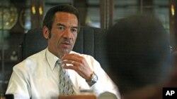 Botswana's President Seretse Khama Ian Khama (file photo).