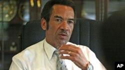 Botswana's President Seretse Khama Ian Khama (File Photo/Marek Zalewski/AP).