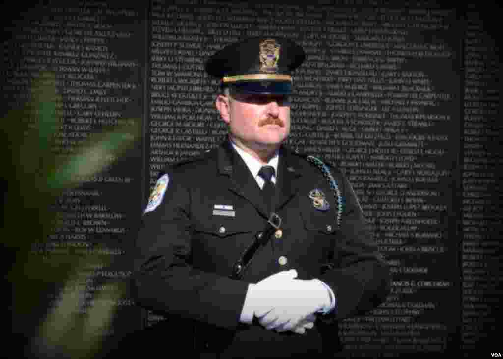 Полицейский из службы охраны