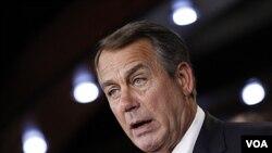 El representante John Boehner, presidente de la Cámara de Representantes, dijo que comprendía los sentimientos de los estadounidenses sobre Afganistán.