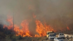 FOTO: Zjarri në Gjirokastër