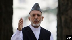 阿富汗總統卡爾扎伊