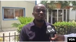 Radio Metropole reporter Luckson Saint-Vil (Photo: Matiado Vilme)