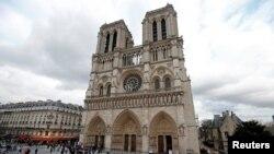 巴黎聖母院大教堂 (資料圖片)