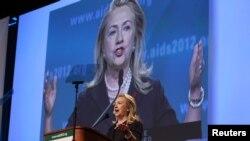 """""""Biz chekinmaymiz. Orqaga qaytish yo'q"""", - deydi Xillari Klinton."""