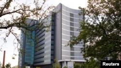 미국 조지아주 아틀란타 시의 질병통제센터(CDC) 건물. (자료사진)