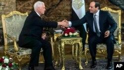 Potpredsednik SAD i predsednik Egipta