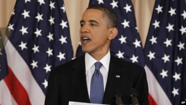 Obama's Pledge of Aid Welcomed in Mideast, Politics Less So