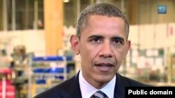 Američki predsednik tokom redovnog subotnjeg obraćanja naciji