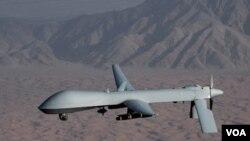 Serangan oleh pesawat tidak berawak Amerika menewaskan pemimpin Taliban di Pakistan barat laut (foto: dok).