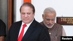 پاک بھارت وزرائے اعظم (فائل فوٹو)