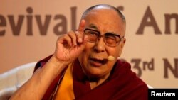 Dalai Lama အိႏၵိယေရာက္ ႏွစ္ ၆၀ ျပည့္အခမ္းအနားက်င္းပ