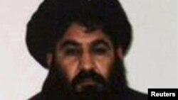 FILE - Mullah Akhtar Mansoor.