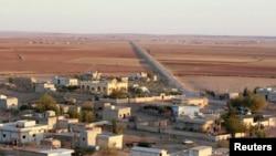 伊斯兰国武装在10月7日控制科巴尼地区以来,库族村庄一直荒无一人。