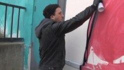Street Artists Create Huge Murals