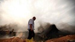 نيروهای مخالف قذافی ناتو را به دليل عدم پشتيبانی در مناطق کوهستانی غرب ليبی مورد انتقاد قرار دادند