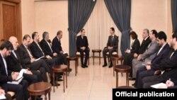 ولایتی و امیرعبداللهیان در دیدار با بشار اسد در دمشق