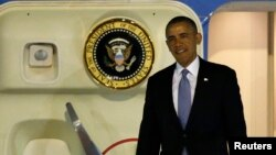 Барак Обама прибыл в Японию