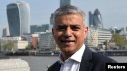 Thị trưởng London Sadiq Khan.