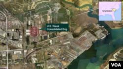 La prisión conocida como U.S. Naval Consolidated Brig, en Charleston, Carolina del Sur, es evaluada para posiblemente recibir prisioneros de Guantánamo.