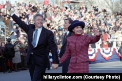 Bill Clinton was elected president in 1992 and re-elected in 1996.