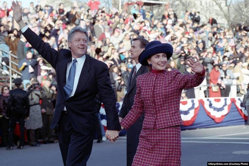 比尔·克林顿在1992年和1996年两次当选美国总统