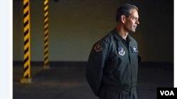 Tướng Kenneth Wilsbach. (Hình: MACKENZIE MENDEZ/U.S. AIR FORCE. Hình được trích xuất từ trang stripes.com)