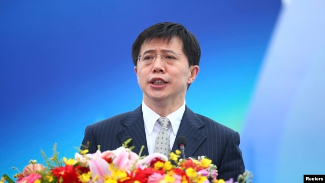 Former deputy governor of the southern island province of Hainan Ji Wenlin, seen in this Feb. 2014 file photo, was found guilty of receiving more than $3 million in bribes, according to the official Xinhua news agency.