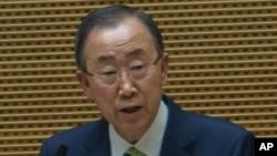 Ban Ki-moon, le secrétaire général de l'ONU