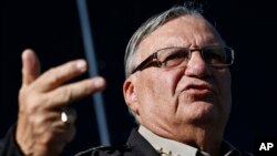 FILE – Joe Arpaio is the controversial sheriff of Arizona's Maricopa County.