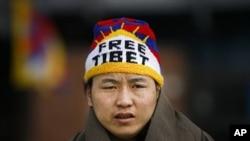 藏族抗議者在新德里被逮捕