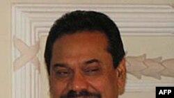 Tổng thống Sri Lanka Mahinda Rajapaksa